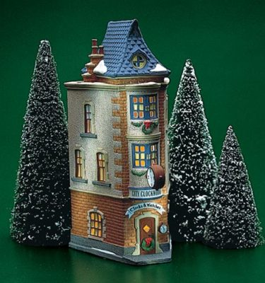 Village Idiotz - Department 56 - Christmas In The City Series - City Clockworks - 56-55313