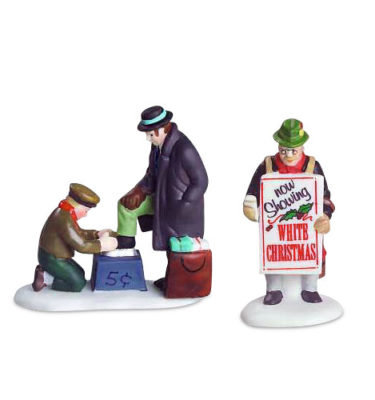 Village Idiotz - Department 56 - Christmas In The City Series - All Around The Town - 56-55450