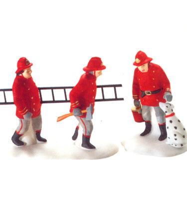 Village Idiotz - Department 56 - Christmas In The City Series - The Fire Brigade - 56-55468