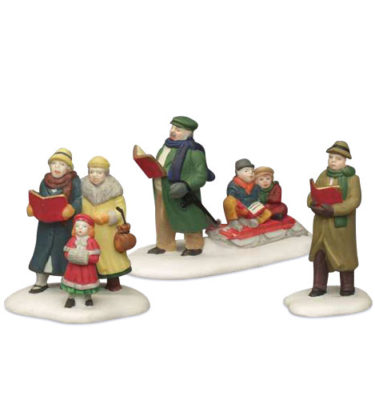 Village Idiotz - Department 56 - Christmas In The City Series - Caroling Thru The City - 56-55484