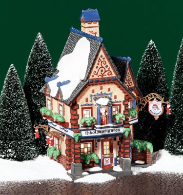 Village Idiotz - Department 56 - Alpine Village Series - Nikolausfiguren (56-56223)