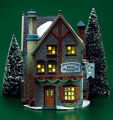 Village Idiotz - Department 56 - Dickens' Village Series - Kingsford's Brew House - 56-58114