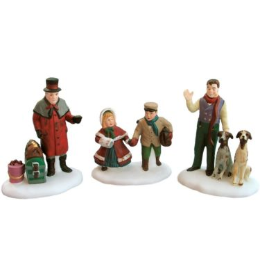 Village Idiotz - Department 56 - Dickens' Village Series - Vision Of A Christmas Past - 56-58173
