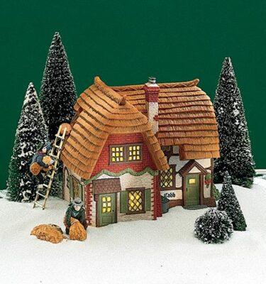 Village Idiotz - Department 56 - Dickens' Village Series - Cobb Cottage - 56-58248