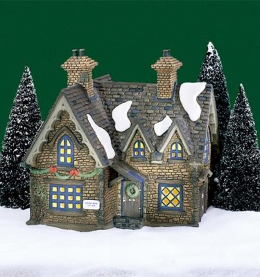 Village Idiotz - Department 56 - Dickens' Village Series - Barmby Moor Cottage - 56-58324