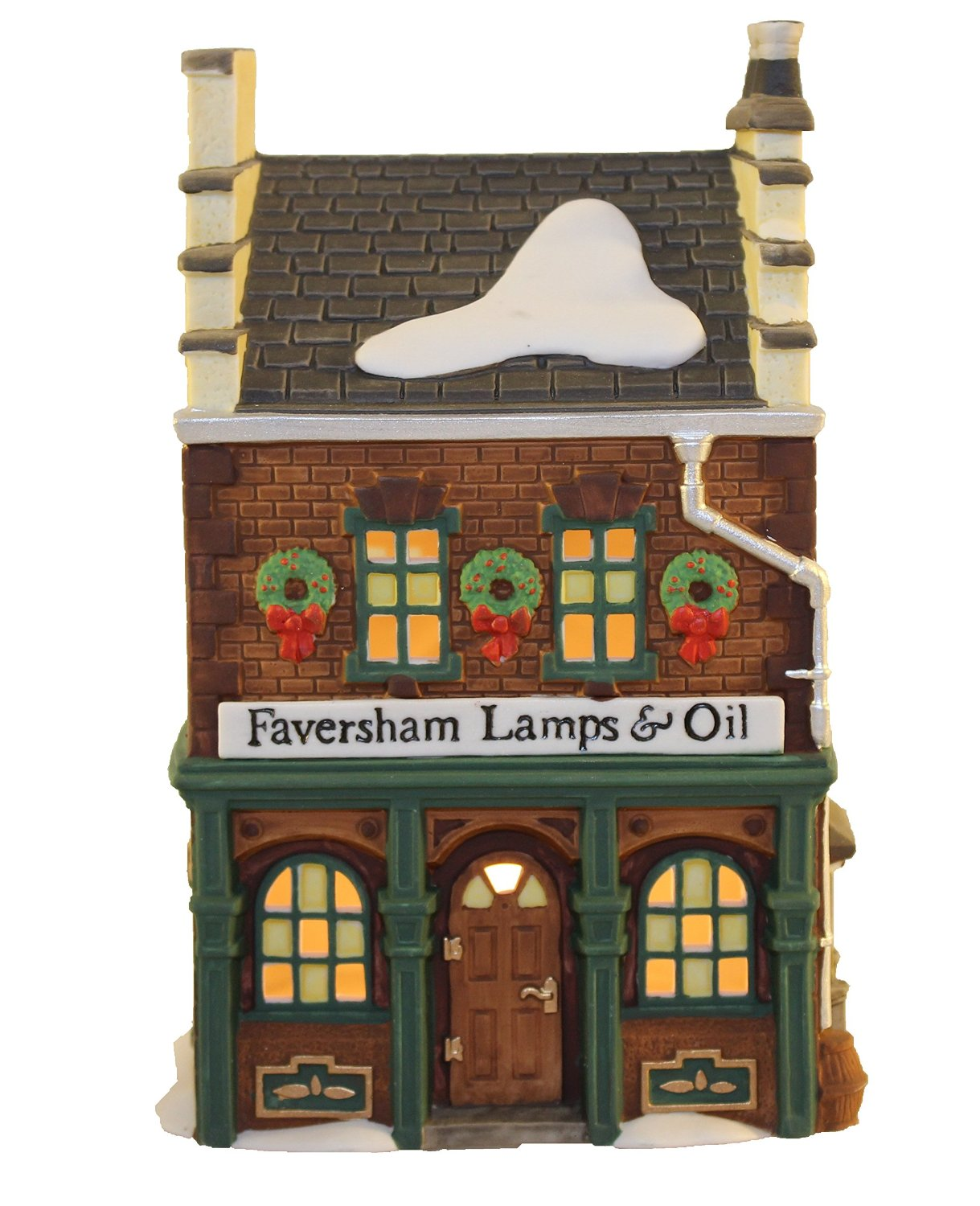 department 56 dickens village series faversham lamps oil 56 55522 village idiotz shop. Black Bedroom Furniture Sets. Home Design Ideas