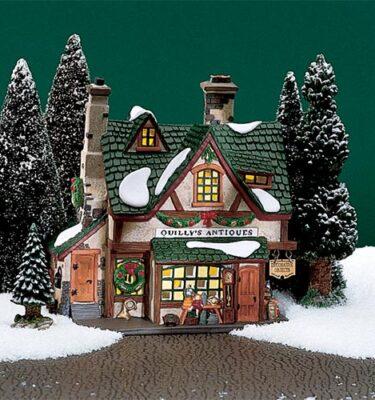 Village Idiotz - Department 56 - Dickens' Village Series - Quilly's Antiques - 56-58348