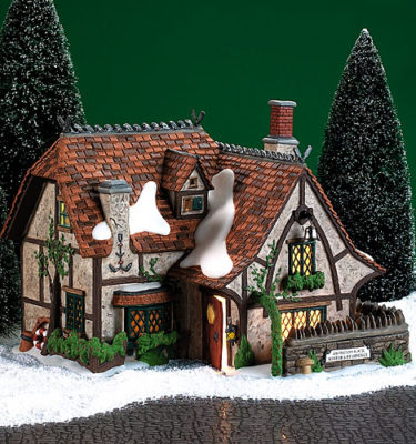 Village Idiotz - Department 56 - Dickens' Village Series - Abington Lock Keeper's Residence - 56-58474