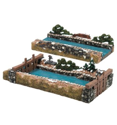 Village Idiotz - Department 56 - Dickens' Village Series - Abington Locks - 56-58521