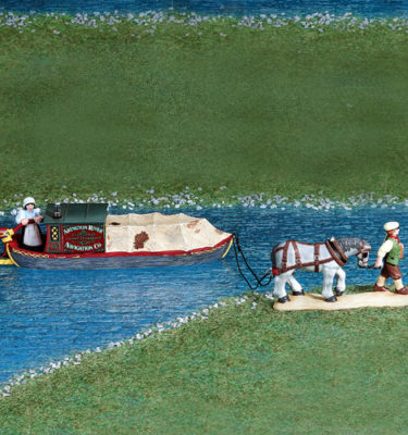 Village Idiotz - Department 56 - Dickens' Village Series - Abington Canal Boat - 56-58522