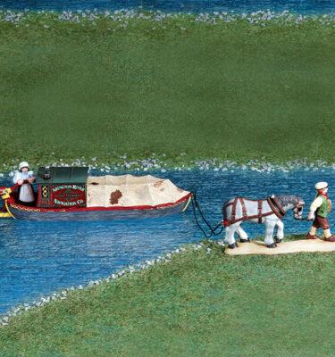 Village Idiotz - Department 56 - Dickens' Village Series - Abington Canal Boat - 56-58522