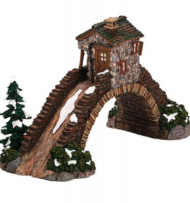 Village Idiotz - Department 56 - Dickens' Village Series - Abington Bridge - 56-58536