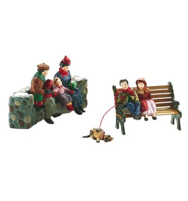 Village Idiotz - Department 56 - Christmas In The City Series - Christmas At The Park - 56-58861