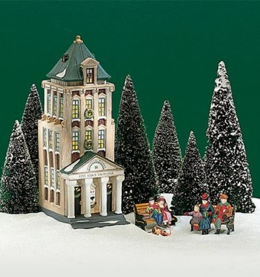 Village Idiotz - Department 56 - Christmas In The City Series - Brokerage House - 56-58815