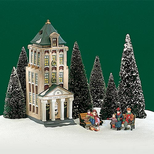 Village Idiotz - Department 56 - Christmas In The City Series - Brokerage House - 56