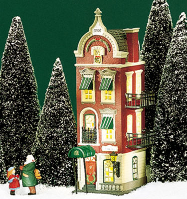 Village Idiotz - Department 56 - Christmas In The City Series - Beekman House - 56-58878