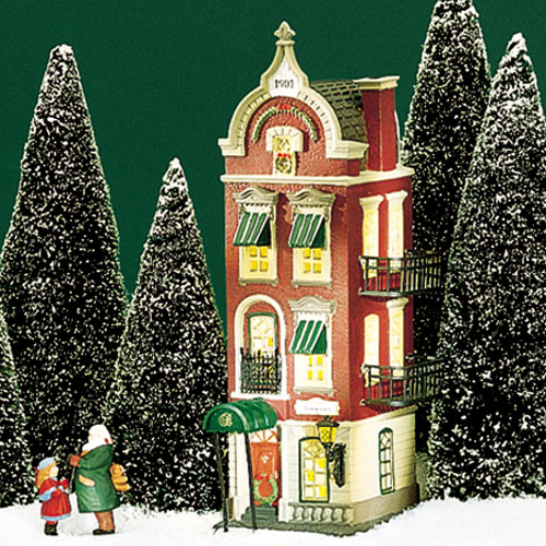 Village Idiotz - Department 56 - Christmas In The City Series - Beekman House - 56