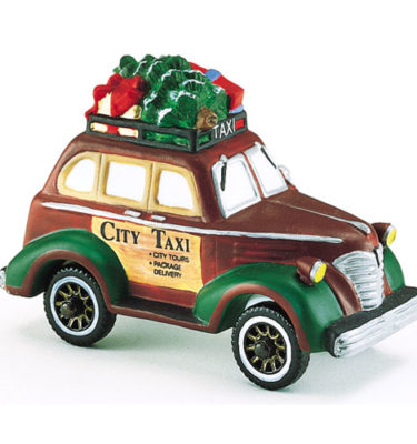 Village Idiotz - Department 56 - Christmas In The City Series - City Taxi - 56-58894