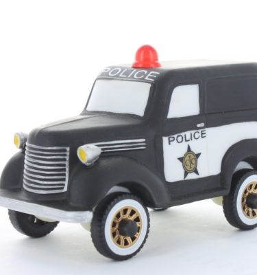 Village Idiotz - Department 56 - Christmas In The City Series - City Police Car - 56-58903