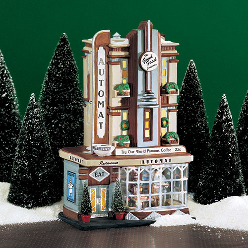 Village Idiotz - Department 56 - Christmas In The City Series - Clark Street Automat - 56-58954