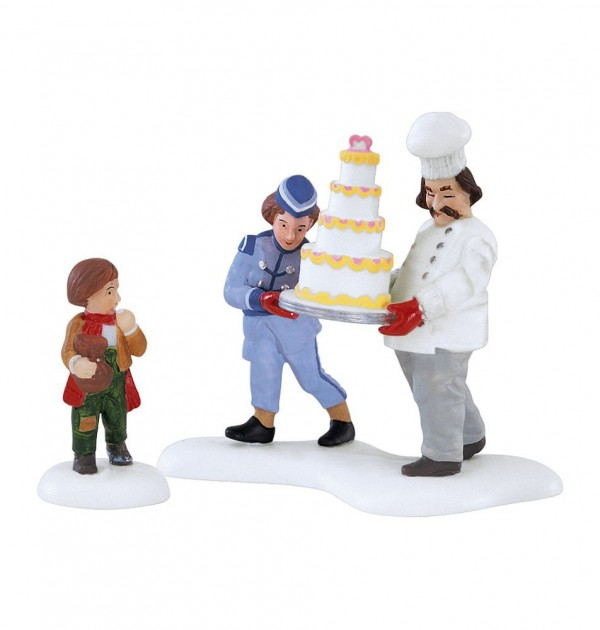Village Idiotz - Department 56 - Christmas In The City Series - Excellent Taste - 56-58958