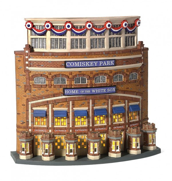 village idiotz department 56 christmas in the city series old comiskey park