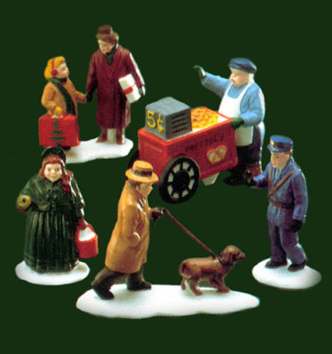 Village Idiotz - Department 56 - Christmas In The City Series - City People - 56-59650