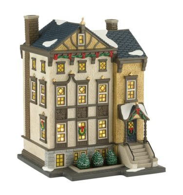 Village Idiotz - Department 56 - Christmas In The City Series - 7400 Beacon Hill