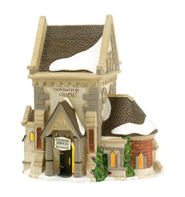 Village Idiotz - Department 56 - Dickens' Village Series - Dovington Chapel - 56-65692