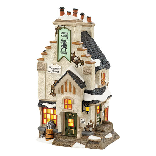 Village Idiotz - Department 56 - Dickens' Village Series - Hampshire Sweeps - 4036509