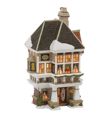 Village Idiotz - Department 56 - Dickens' Village Series - Nephew Fred's Home - 4036525