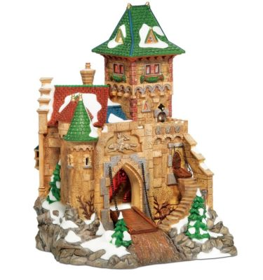 Village Idiotz - Department 56 - Alpine Village Series - Castle Wolfstein