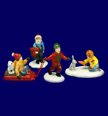 Village-Idiotz-Department-56-51071-The-Original-Snow-Village-Series-Christmas-Children