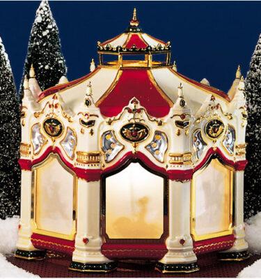 Village-Idiotz-Department-56-54933-The-Original-Snow-Village-Series-The-Carnival-Carousel