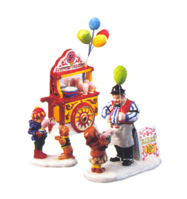 Village-Idiotz-Department-56-54938-The-Original-Snow-Village-Series-Carnival-Tickets-And-Cotton-Candy