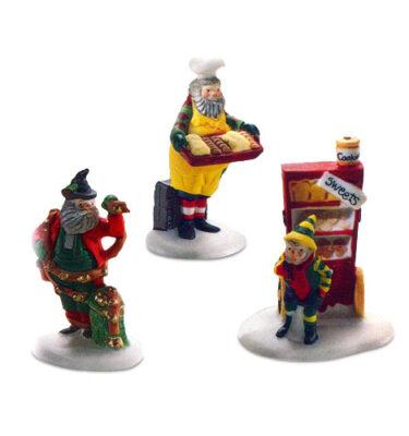 Village-Idiotz-Department-56-56030-North-Pole-Series-Baker-Elves