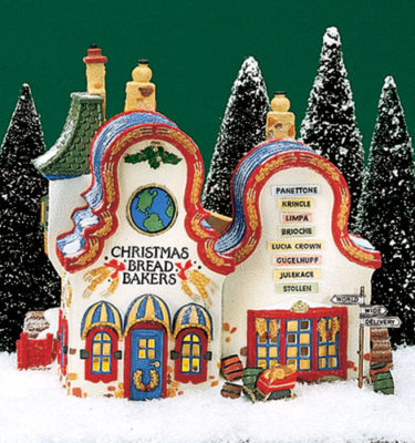 Village-Idiotz-Department-56-56393-North-Pole-Series-Christmas-Bread-Bakers