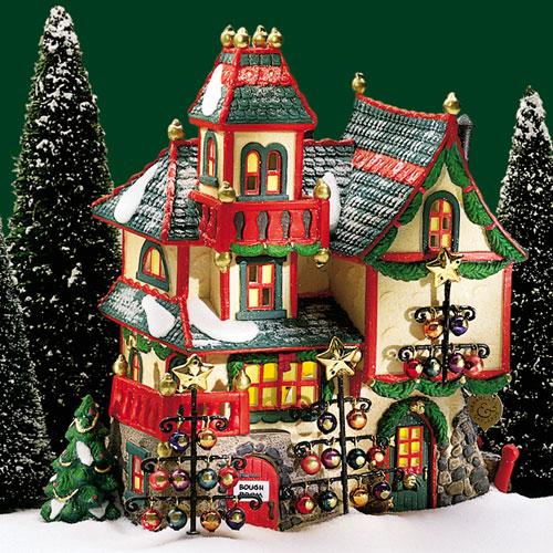 Downton Abbey Christmas Ornaments
