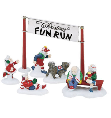 Village-Idiotz-Department-56-56434-North-Pole-Series-Christmas-Fun-Run