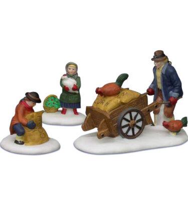 Village-Idiotz-Department-56-56456-New-England-Village-Series-Harvest-Seed-Cart