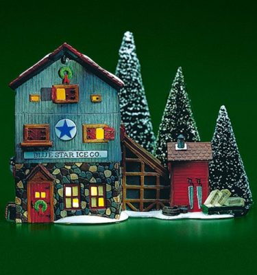 Village-Idiotz-Department-56-56472-New-England-Village-Series-Blue-Star-Ice-Co