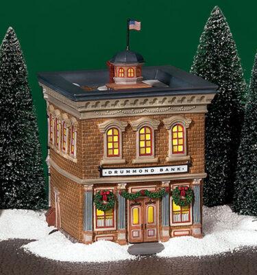 Village-Idiotz-Department-56-56667-New-England-Village-Series-Drummond-Bank