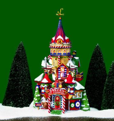 Village-Idiotz-Department-56-56893-North-Pole-Series-Santas-Toy-Company