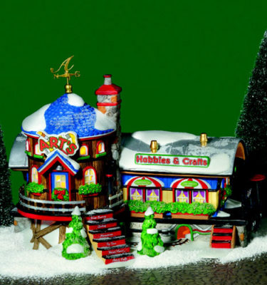Village-Idiotz-Department-56-56897-North-Pole-Series-Arts-Hobbies-And-Crafts
