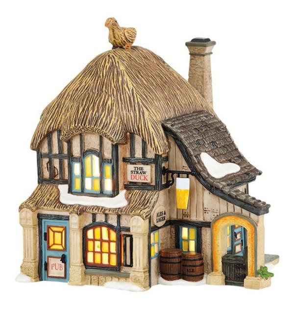 Village Idiotz - Department 56 - Dickens' Village Series - Straw Duck Pub - 4036510