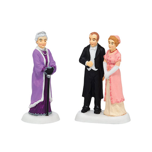 Village Idiotz - Department 56 - Downton Abbey Series - The Downton Legacy Continues- 4036514