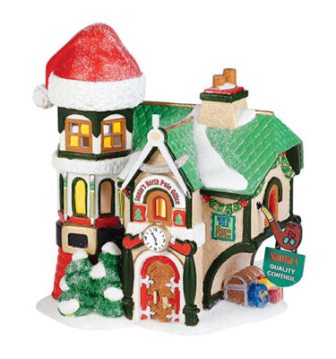 Village Idiotz - Department 56 - North Pole Series - Santa's North Pole Office - 4036540