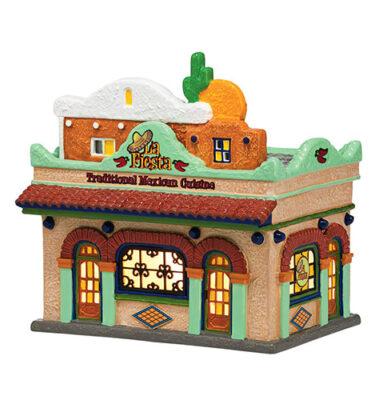 Village Idiotz - Department 56 - The Original Snow Series - La Fiesta Restaurante - 4036561